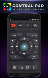 screenshot of Remote Control for TV version 1.1.4