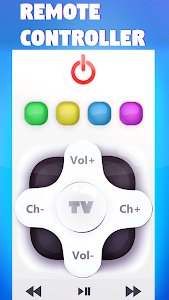 screenshot of Remote controller for TV version 1.0