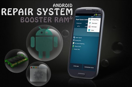 screenshot of Repair System-Speed Booster (fix problems android) version 1.6