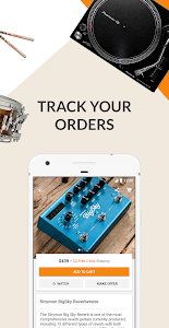 screenshot of Reverb.com: Buy & Sell Music Gear version Varies with device