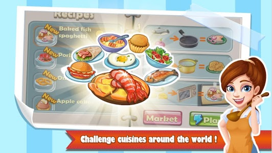 screenshot of Chef Fever: Crazy Kitchen Restaurant Cooking Games version 1.9.3