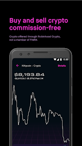 screenshot of Robinhood - Investment & Trading, Commission-free version Varies with device