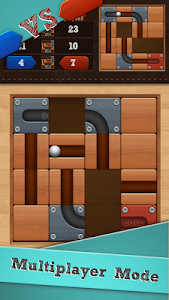 screenshot of Roll the Ball® - slide puzzle version 1.7.56