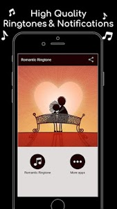 screenshot of Romantic Ringtone version 1.0