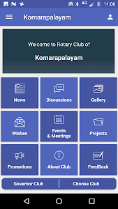 screenshot of Rotary Star App 2982 version 1.2.0