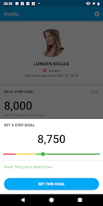 screenshot of Runtastic Steps - Step Tracker & Pedometer version Varies with device