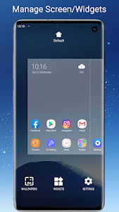 screenshot of S7/S8/S9 Launcher for Galaxy S/A/J/C, S9 theme version 5.4
