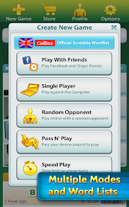 screenshot of SCRABBLE™ version 5.31.0.801