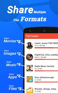 screenshot of Share Files & Send Anywhere - SHARE all version 1.1.21