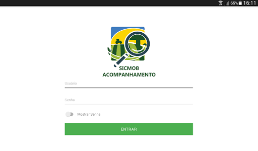 screenshot of SICMOB Acompanhamento version 1.13.0
