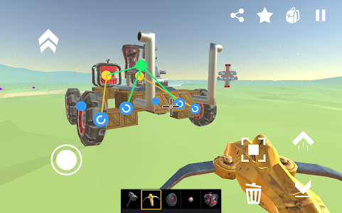 screenshot of SSS: Super Scrap Sandbox - Become a Mechanic version 0.0.6.48-alpha