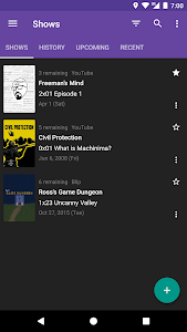 screenshot of SeriesGuide – Show & Movie Manager version Varies with device