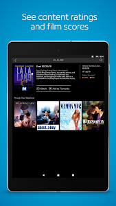 screenshot of Shaw BlueCurve TV version 5.4.5.001