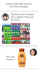 screenshot of Shopping list — Lister version Varies with device