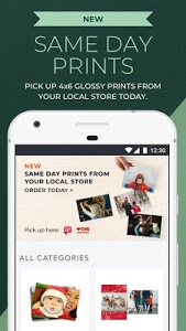 screenshot of Shutterfly: Cards, Gifts, Free Prints, Photo Books version 7.5.1