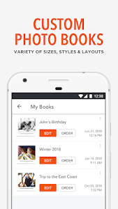 screenshot of Shutterfly: Free Prints, Photo Books, Cards, Gifts version 5.17.1
