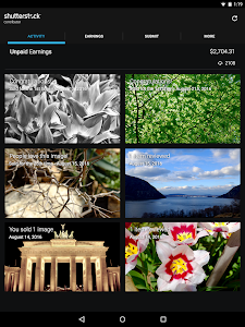 screenshot of Shutterstock Contributor version 1.5.2