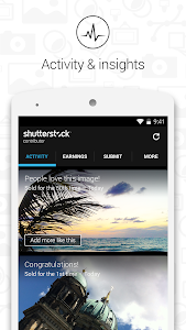 screenshot of Shutterstock Contributor version 1.4.2