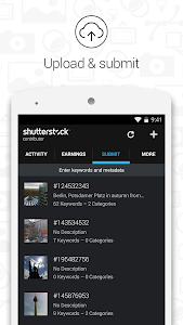 screenshot of Shutterstock Contributor version 1.3