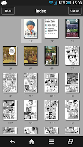 screenshot of SideBooks - PDF&Comic viewer version 2.7.02
