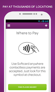 screenshot of Softcard (was Isis Wallet) version 2.02.01-build.03.0