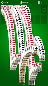screenshot of Solitaire version 1.16.207.1740