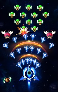 screenshot of Space Hunter: The Revenge of Aliens on the Galaxy version 1.7.8