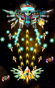 screenshot of Space Hunter: The Revenge of Aliens on the Galaxy version 1.0.9