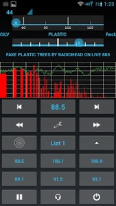 screenshot of Spirit1: Real FM Radio version 2014_12_16