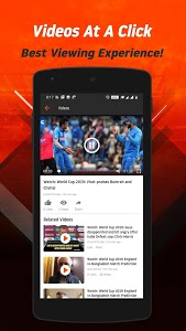 screenshot of FanCode: Live Stream Cricket, Football, Live Score version 3.3.0