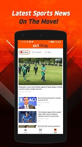 screenshot of FanCode: Cricket World Cup Live Score, Sports News version 3.1.0