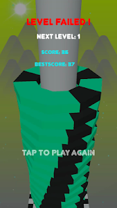 screenshot of Stack Blast Ball : Break Block Platforms version 1.2