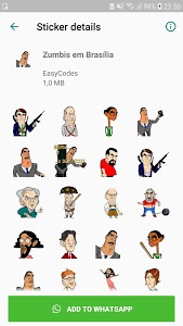 screenshot of Stickers for Whatsapp - WAStickerApps Stickers version 1.0.64