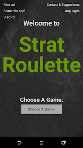 screenshot of Strat Roulette version 1.10.2