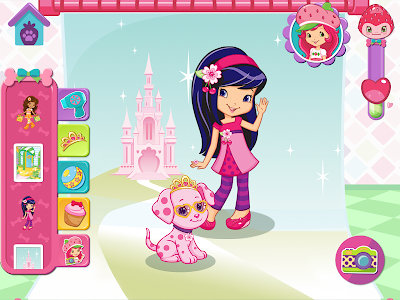 screenshot of Strawberry Shortcake Puppy version 1.4