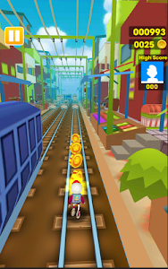 screenshot of Subway Rush 3D version 1.1