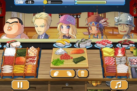 screenshot of Sushi House - cooking master version 2.2.0