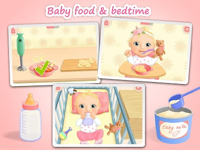 screenshot of Sweet Baby Girl - Dream House and Play Time version 3.0.13