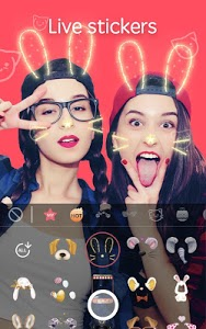 screenshot of Sweet Camera Lite - Take Selfie Filter Camera version 3.9.319