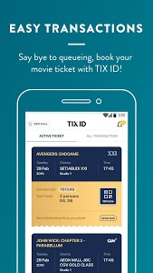 screenshot of TIX ID version 1.19.4