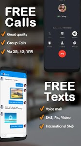 screenshot of TalkU Free Calls +Free Texting +International Call version 4.11.1