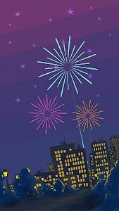 screenshot of Tap the Fireworks version 1.0.1