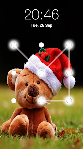 screenshot of Teddy Bear Pattern Lock Screen version 2.6