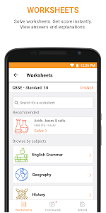 screenshot of Teno – School app for ICSE, CBSE & more version 23.1.2