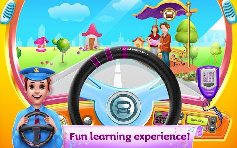 screenshot of The Wheels on the Bus - Learning Songs & Puzzles version 1.0.8
