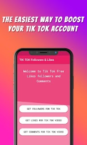 screenshot of TikFame : Free Fans & Followers & Likes version 1.1