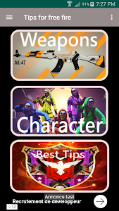 screenshot of Tips for free fire ProGuide 2019 version 1.2