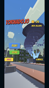 screenshot of Tornado.io version 1.1.1