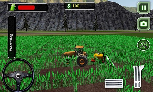 screenshot of Tractor Farmer Simulator 2016 version 1.5