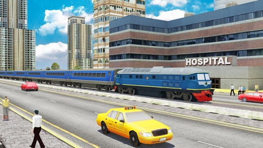 screenshot of Train Driving Free -Train Games version 2.7